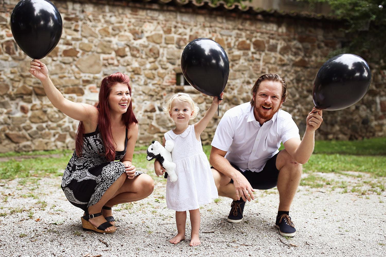Fotografiranje družine